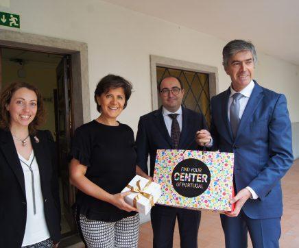 Escola de Hotelaria de Fátima recebeu Ministra do Turismo da Jordânia