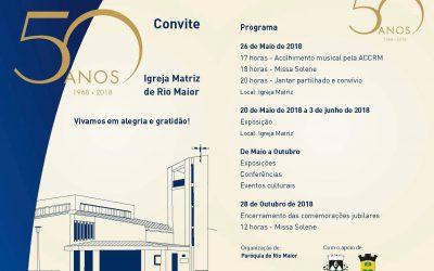50 anos da Igreja Matriz de Rio Maior