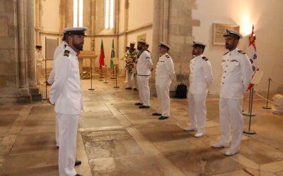 Comitiva do NRP Álvares Cabral assinala aniversário do navio com homenagem ao Patrono na Igreja da Graça