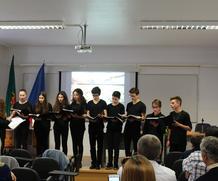 Encontro de Coros de Jovens na Igreja de Santa Clara em Santarém