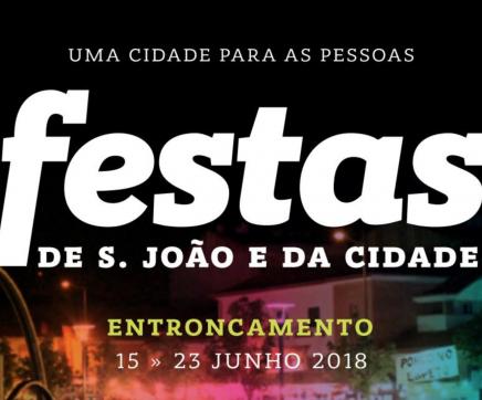 Festas de S. João e da Cidade do Entroncamento de 15 a 23 de junho