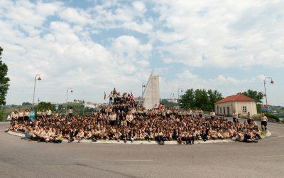 750 escuteiros reunidos em Rossio ao Sul do Tejo