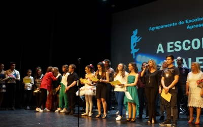 Talentos do Agrupamento de Escolas Marcelino Mesquina Solidários