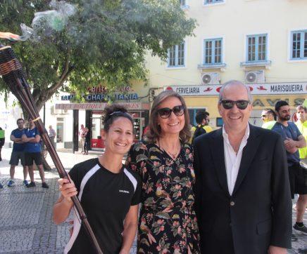 Challenger NERSANT apadrinhado por Inês Henriques, recordista do mundo nos 50km marcha