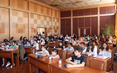 Jovens tomam posse na Assembleia Municipal do Cartaxo