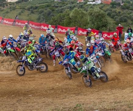 Nacional de Motocross este domingo na Moçarria