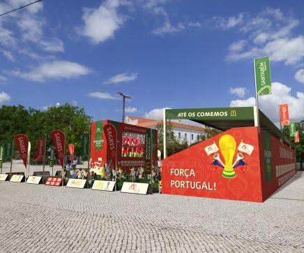 Santarém Arena 2018 uma janela para o Mundial de Futebol com muita animação no apoio à Selecção