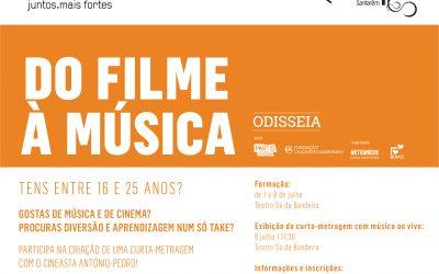 'Odisseia do Filme à Música' no Teatro Sá da Bandeira em Santarém