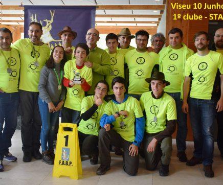 Clube de Tiro com arco da União Matense venceu mais uma prova do Campeonato Nacional de Tiro com arco