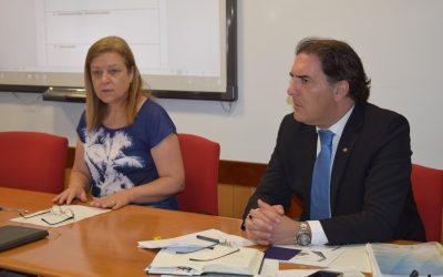 Reunião do Conselho Local de Acção Social de Alcanena com a presença do director da Segurança Social