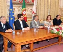 Assinatura de Protocolo para financiamento da obra de conservação no Pavilhão Gimnodesportivo do Clube Desportivo Amiense
