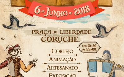 500 crianças na recriação da vila medieval de Coruche