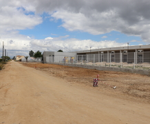 Centro escolar de Foros de Salvaterra e Várzea Fresca com obras em fase de acabamento