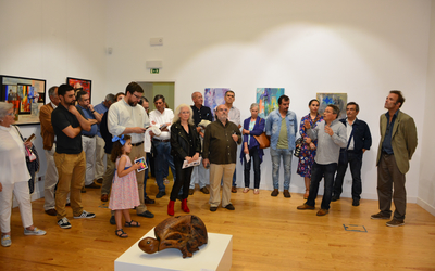 Exposição colectiva In.Artes no Palácio Landal em Santarém até 21 de Setembro