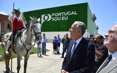Marcelo Rebelo de Sousa inaugura Feira Nacional de Agricultura