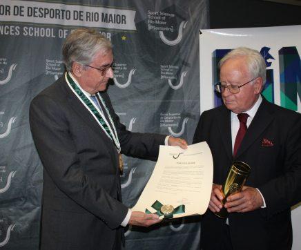 Eduardo Marçal Grilo homenageado no 38.º aniversário do Politécnico