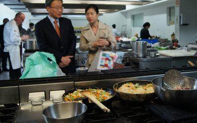 Escola de Hotelaria de Fátima dinamiza workshop de cozinha Sul Coreana