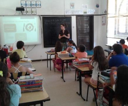 """""""Aula Verde"""" sobre alimentação saudável e sustentável nas escolas de Almeirim"""