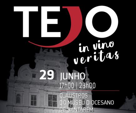 'Tejo In Vino Veritas' nos Claustros do Museu Diocesano de Santarém a 29 de Junho