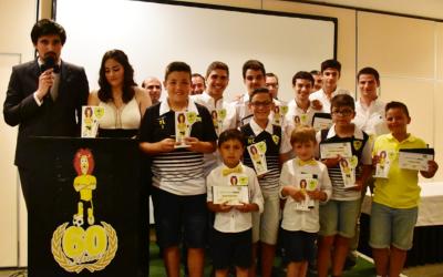Escola de Futebol do CCRD Moçarriense encerrou época desportiva com gala de entrega de prémios