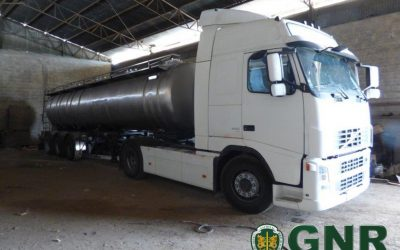 GNR recupera 25 mil litros de óleo furtado