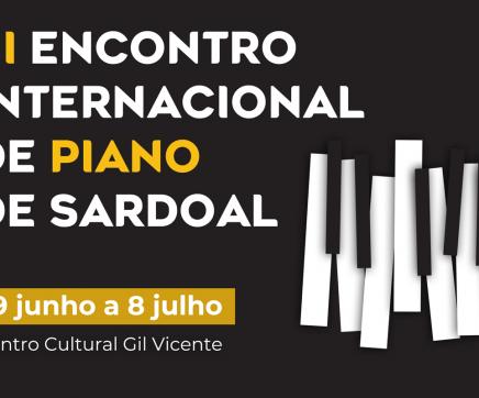 III Encontro Internacional de Piano de Sardoal no Centro Cultural Gil Vicente