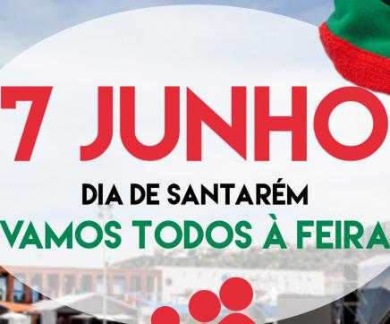 Amanhã, dia 7 é o dia de Santarém na Feira Nacional de Agricultura e Feira do Ribatejo