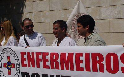 Enfermeiros de Santarém reivindicam progressão nas carreiras e reforço de profissionais