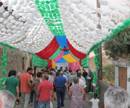 Ruas enfeitadas do Pereiro de Mação estão de volta de 24 a 26 de Agosto