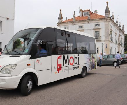 Foi hoje apresentado o projecto MOBI.SÉNIOR – Transporte Colectivo Sénior do Concelho de Santarém