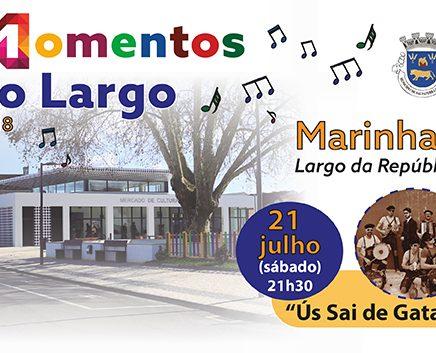 Este sábado Marinhais recebe a terceira edição do 'Momentos no Largo'