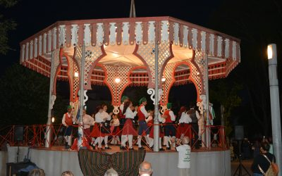 Grupo de Danças e Cantares Ribatejanos trouxe folclore ao Jardim da República