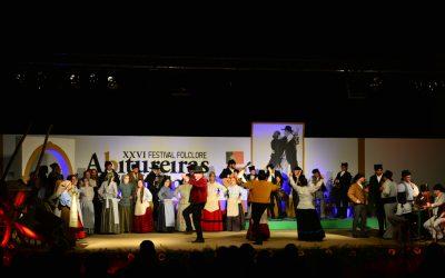 Abitureiras recebeu XXVI Festival e VII Mostra Ibérica de Folclore no passado sábado