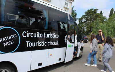Minibus entrou hoje em funcionamento no Centro Histórico de Santarém