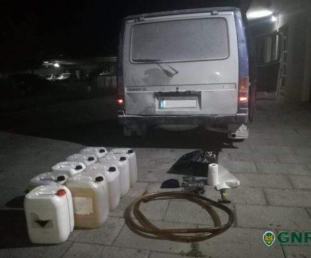 Sete indivíduos detidos por furto de gasóleo em Riachos