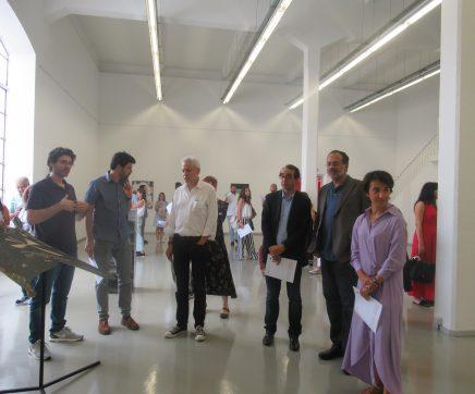 """Exposição """"Birbante"""" de Pedro Henriques no quARTel da Arte Contemporânea de Abrantes"""