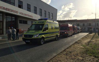 Câmara Municipal de Salvaterra de Magos financia compra de ambulância para os Bombeiros Voluntários