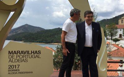 Dornes homenageada como uma das 7 Maravilhas de Portugal