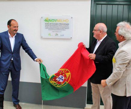 Produtores de milho inauguram Centro de Formação em Coruche