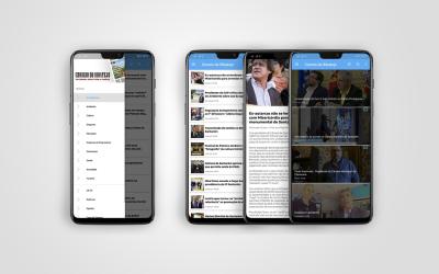 Aplicação para dispositivos móveis do Correio do Ribatejo com nova versão