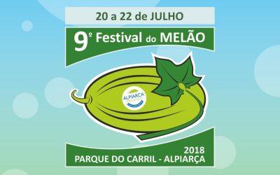 Festival do Melão em Alpiarça de 20 a 22 de Julho