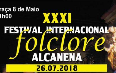Festival Internacional de Folclore esta quinta-feira na praça 8 de Maio em Alcanena