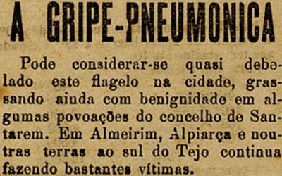 """A Gripe Pneumónica em 1918 """" Da fome, da guerra e da pestilência livrai-nos Senhor!"""" (Oração medieval)"""