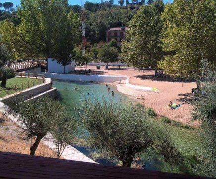 Animação desportiva aos fins-de-semana no Olhos d'Água em Alcanena