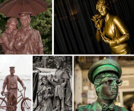 Festival de Estátuas Humanas de Santarém embeleza ruas do Centro Histórico
