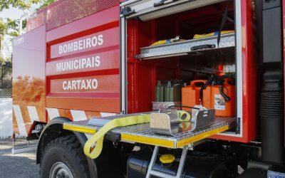 Presidente da Câmara Municipal do Cartaxo agradece a populares, Bombeiros e agentes de protecção civil