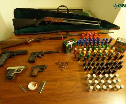 Prisão preventiva por posse de armas ilegais em Salvaterra de Magos