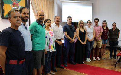 Jovens voluntários nas florestas foram recebidos pelo presidente da Câmara de Torres Novas