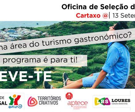 'Taste Up' desafia promotores turísticos no Cartaxo