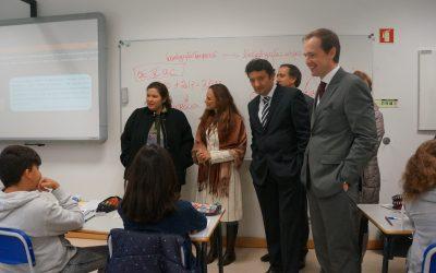 Cartaxo recebe comunidade escolar